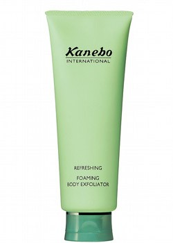 Refreshing foaming body exfoliator Kanebo Sensai 250ml